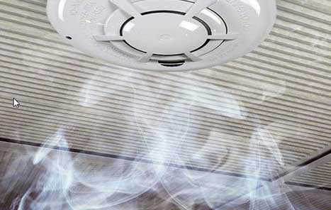 Smoke Alarm Detectors by Arpel Security Systems