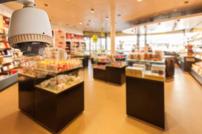 Camera for Shopping Centre by Arpel Security Systems